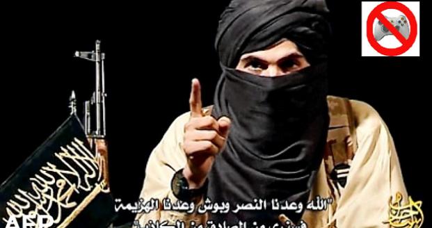 Terroristen staken zolang games 'de schuld' krijgen