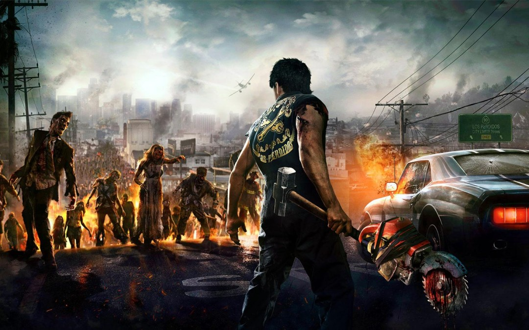 Zombies verdelgen met een vlammenwerper