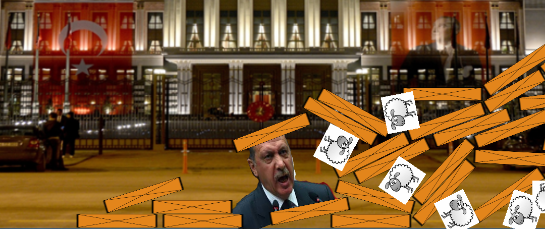 Angry Erdogan!