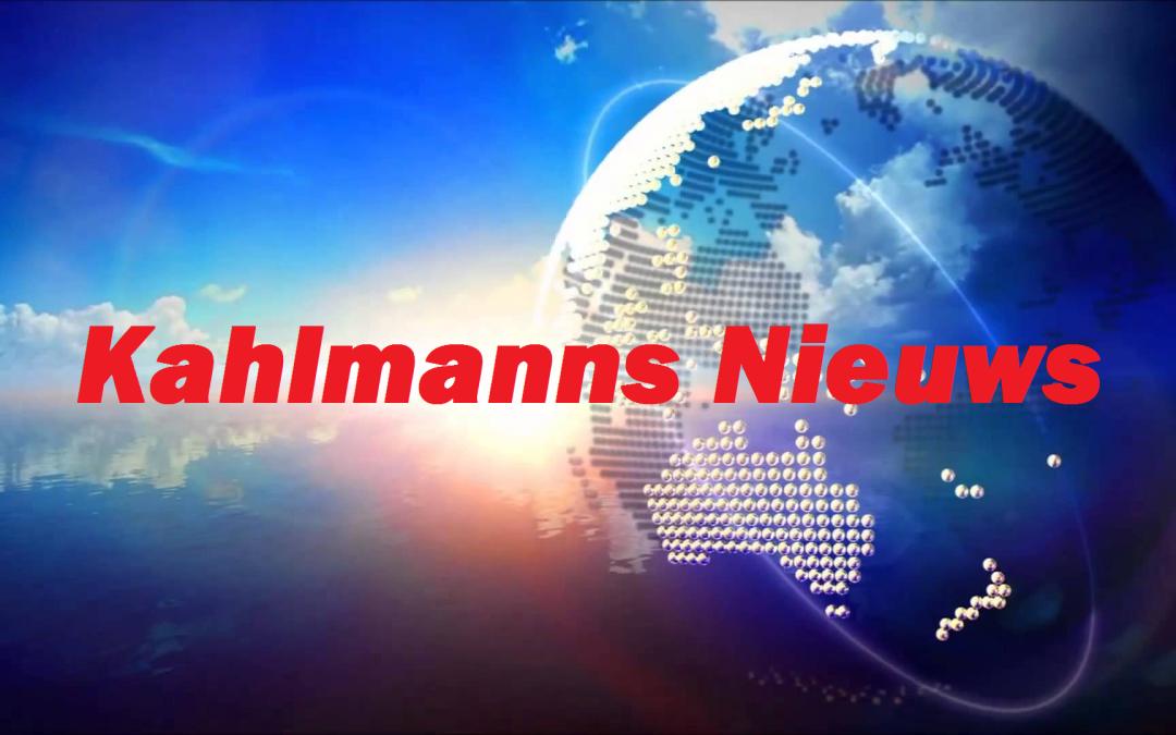 Kahlmanns Nieuws mei 2017